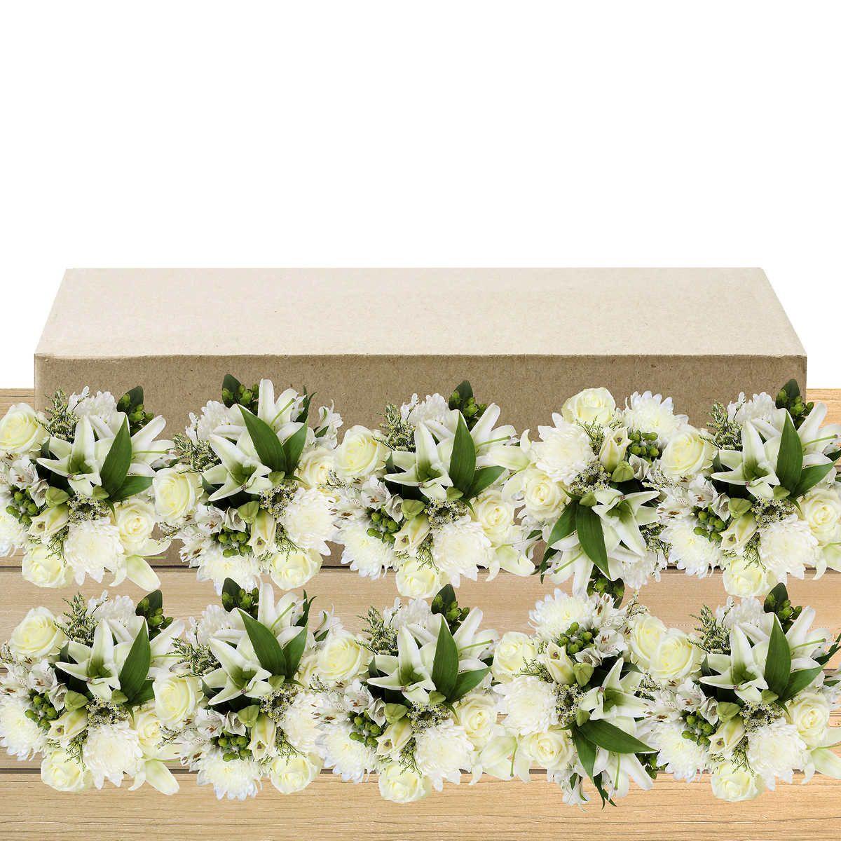 White 2 Outdoor Wedding Flowers Arrangements Costco Wedding Flowers Simple Wedding Centerpieces