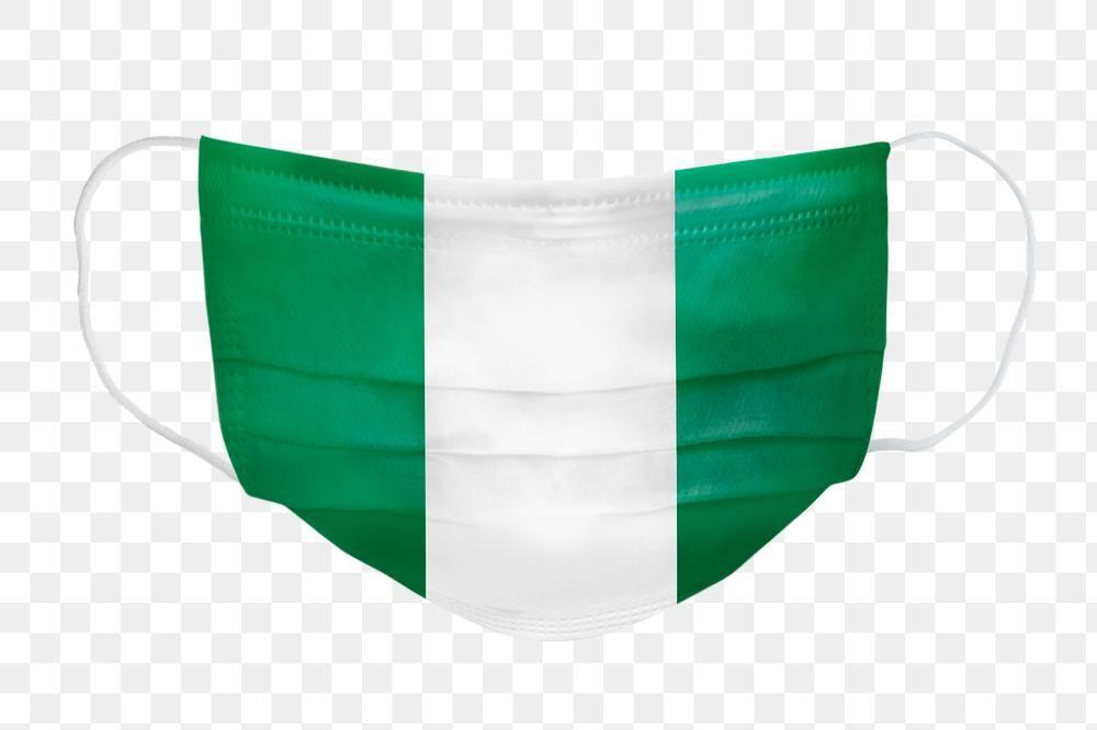 Nigerian Flag Pattern On A Face Mask Mockup Free Image By Rawpixel Com Fon Nigerian Flag Pattern Free Mockup