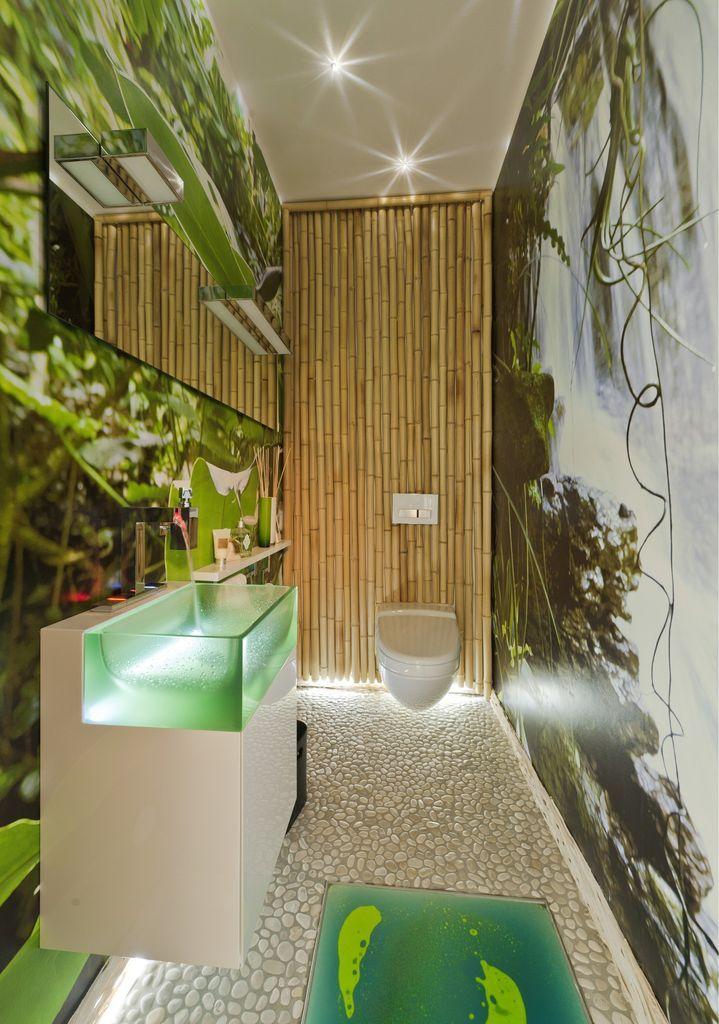 Dschungelfieber Am Bodensee Tolle Badezimmer Dschungel