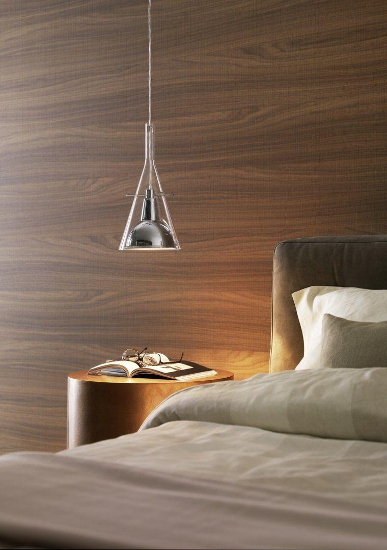 luminaire moderne suspendu chambre a coucher  Copper pendant