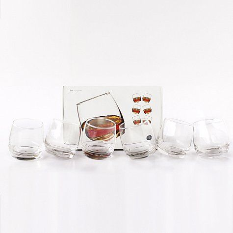Set de 6 Vasos de Whiskey