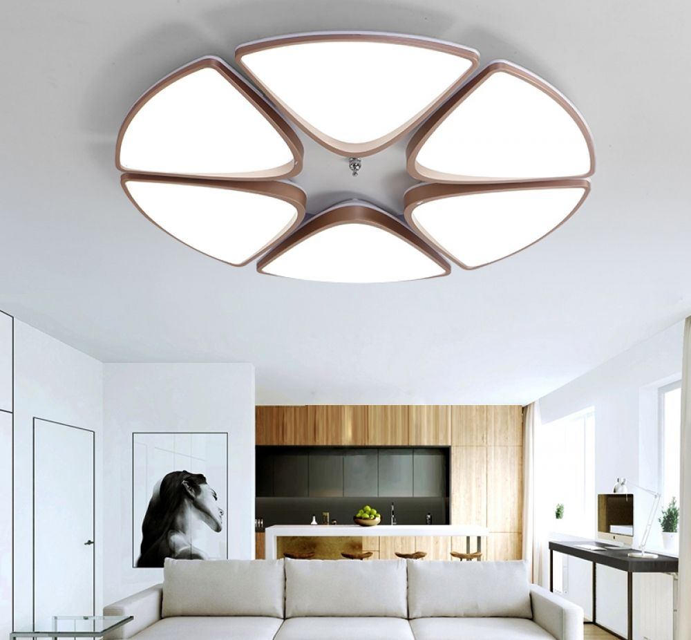 Acrylic Modern Led Ceiling Lights For Corridor Entrance Of Home Lamp Plafonnier Luminaria Lamparas De Techo White Black Painted Ceiling Lights & Fans Lights & Lighting