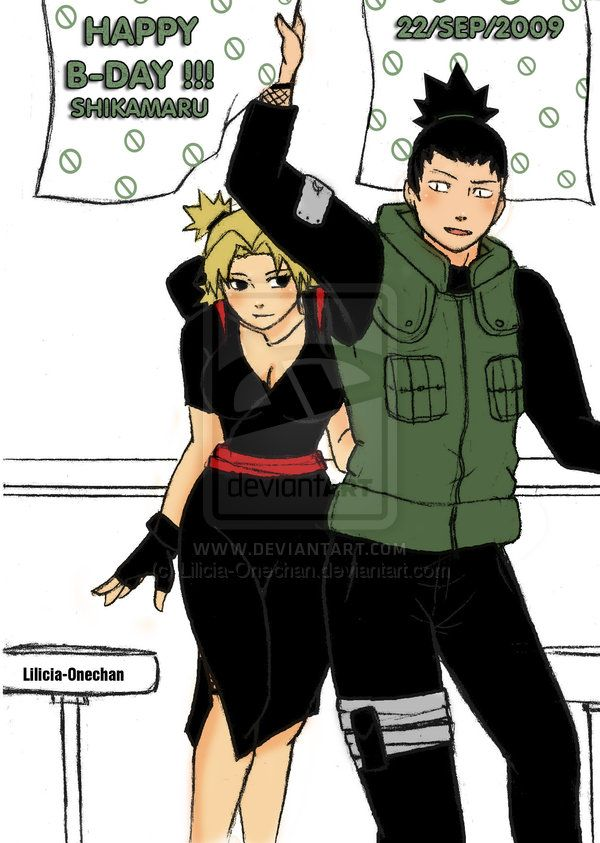 Do Shikamaru And Temari Get Together
