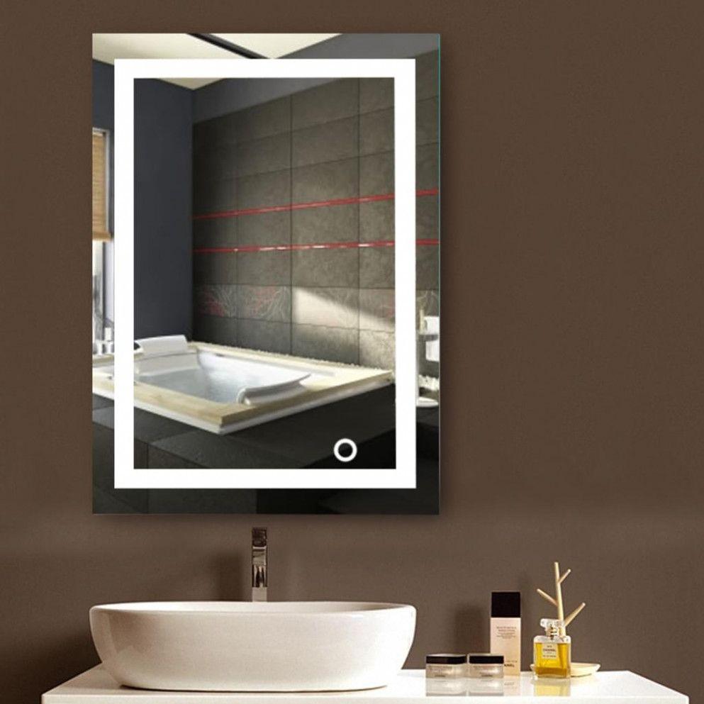 15 Rechte Spiegel Mit Licht In 2020 Badspiegel Beleuchteter Spiegel Badezimmerspiegel Beleuchtet