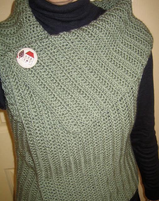 Mes favoris tricot-crochet: Modèle gratuit : Gilet au crochet ...