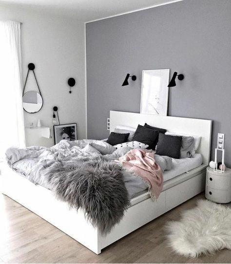 Photo of #bedroomide #SchwarzweissTeenagerMädchenschlafzimmerideen #teenagegirlbedroomid…