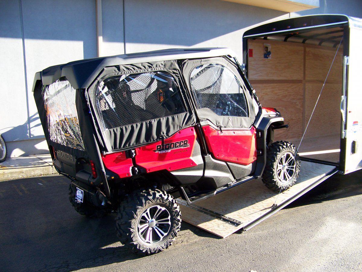 P1000 Trailering SxS Honda pioneer 1000, Honda, Atv