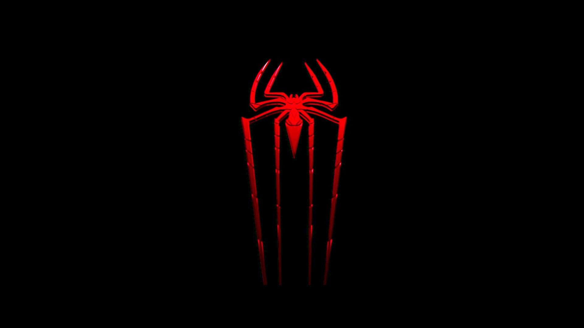 Click To Download Spiderman Logo Wallpaper Desktop Ng4 To Your Desktop Or Another Devices Good Luck Logo Wallpaper Hd Spiderman Images Black Wallpaper Iphone