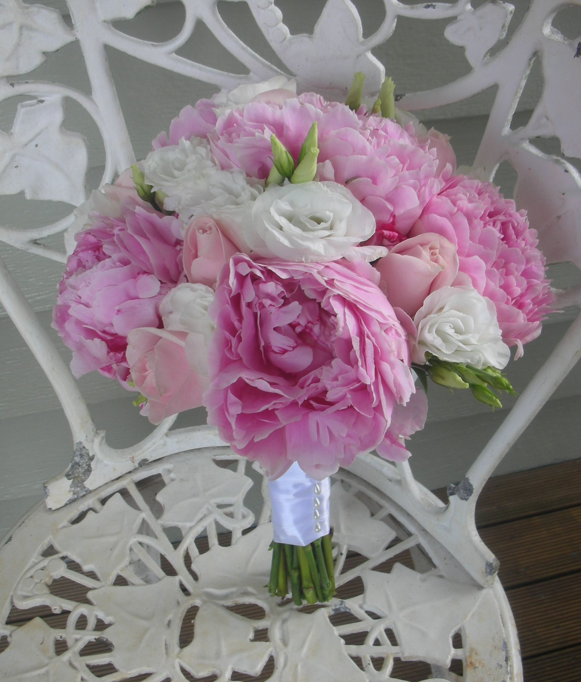 Wedding Flowers By Natalina Peony Rose Roses And Lisianthus
