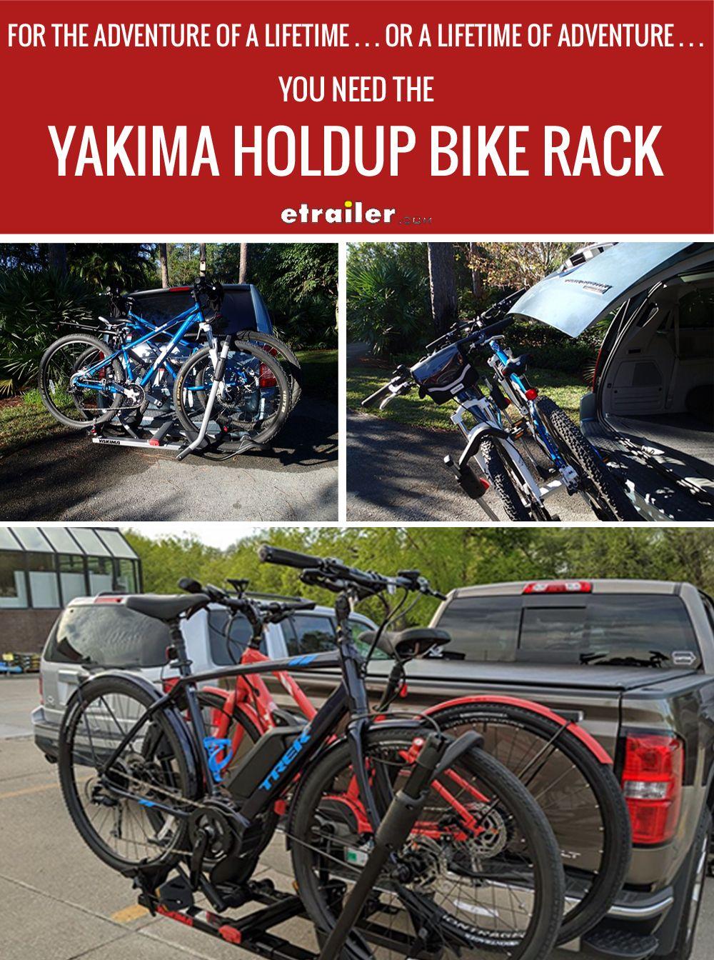 Yakima Holdup 2 Bike Rack For 2 Hitches Platform Style