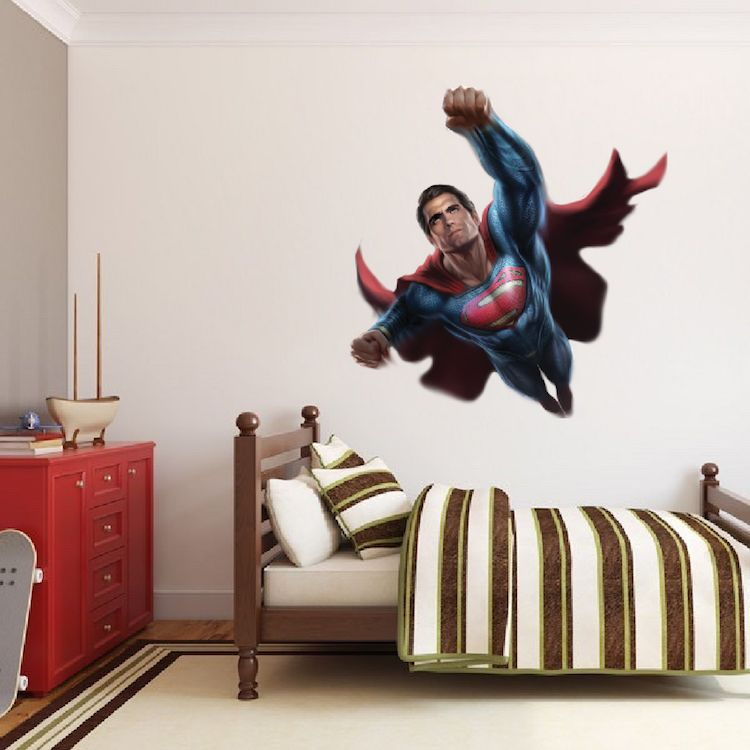 Superman Wall Decal Superhero Wall Design Superman Wall Decal Superhero Wall Wall Decals For Bedroom