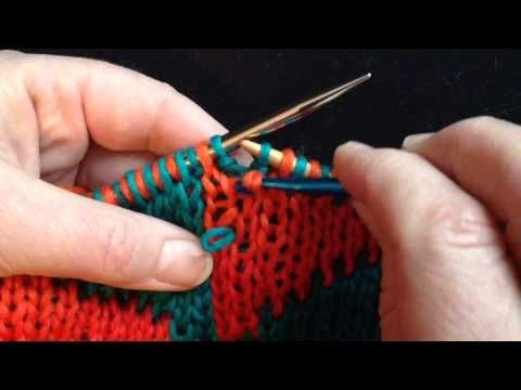Fixing Common Double Knit Errors Knitting And Crocheting