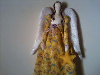 Eu costuro , você costura: PAP de Tilda anjo de Boa Noite