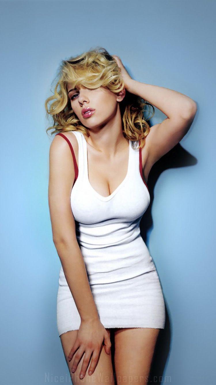 Ios 7 Scarlett Johansson Iphone 6 6 Plus Wallpaper