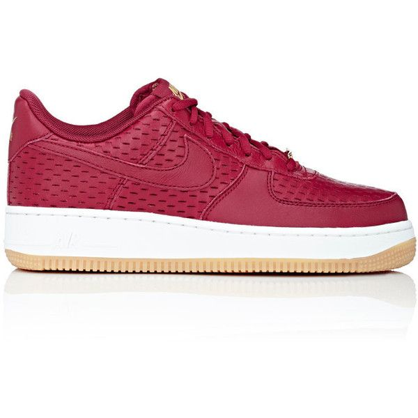 8b16fb3722c2 Nike Women s Air Force 1  07 Premium Sneakers ( 120) ❤ liked on Polyvore