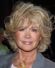 Tousled and carefree short hairstyle | Connie Stevens | hairstyle ...