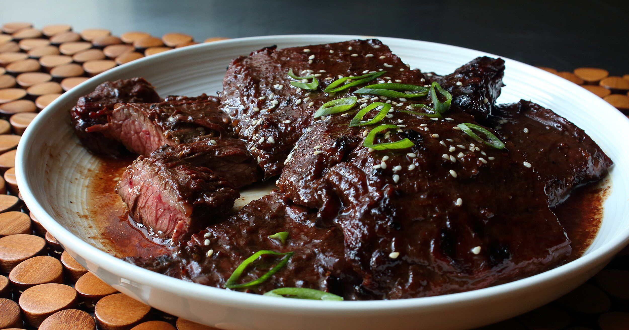 Grilled Hoisin Beef Recipe Entree Recipes Hoisin Beef Recipe Asian Dishes