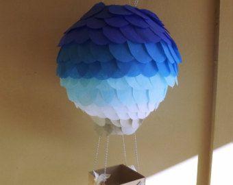 Aire caliente globo Prop  Decoración fiesta de aerostación