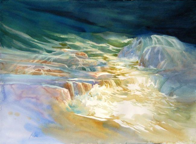 watercolor gallery | Famous Watercolor Artist | Jeanne Larson ...