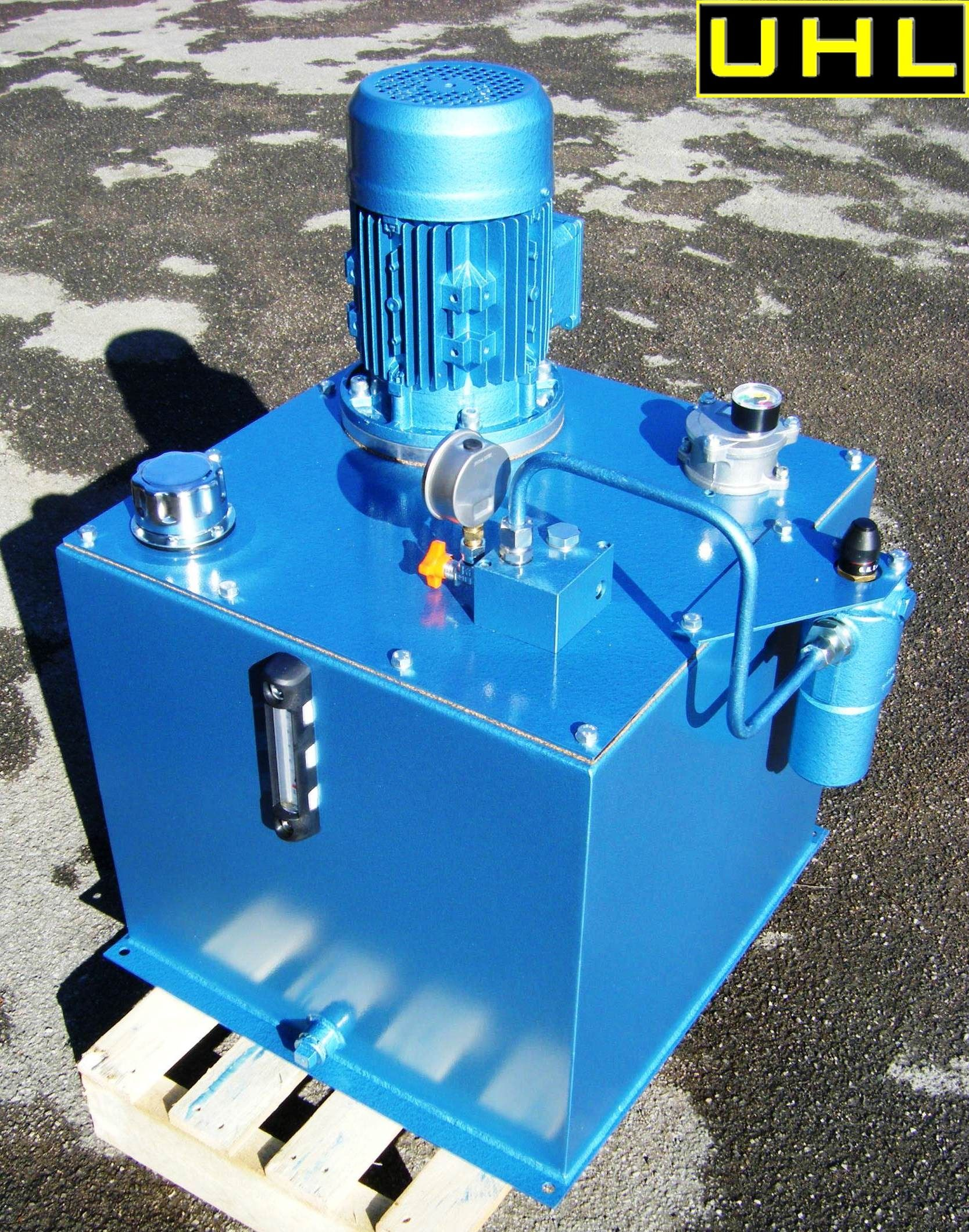 Another Uhl Hydraulic Power Pack Ready For Dispatch Hydraulic Systems Power Pack Power Unit