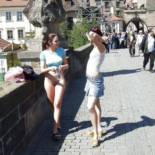 bottomless panties Girls no