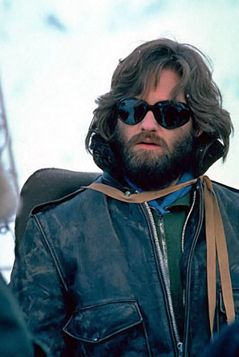 The Thing hid in his beard at one point in the movie