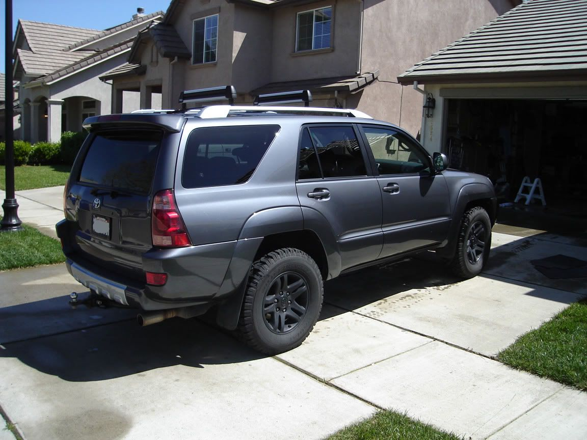 Toyota 4 runner with big wheels new black rims page 6 toyota 4runner