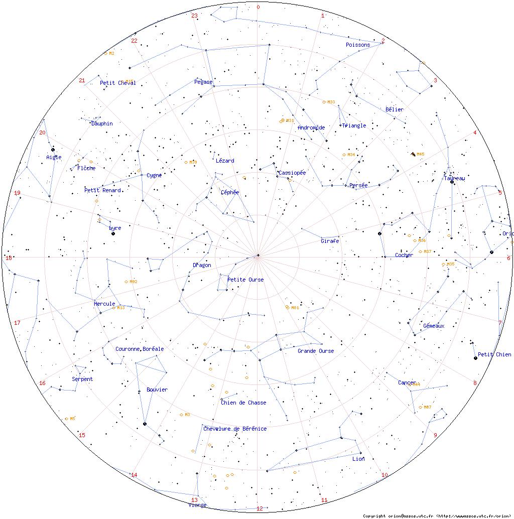 carte du ciel à imprimer carte des etoiles a imprimer gratuit   Recherche Google | HISTOIRE