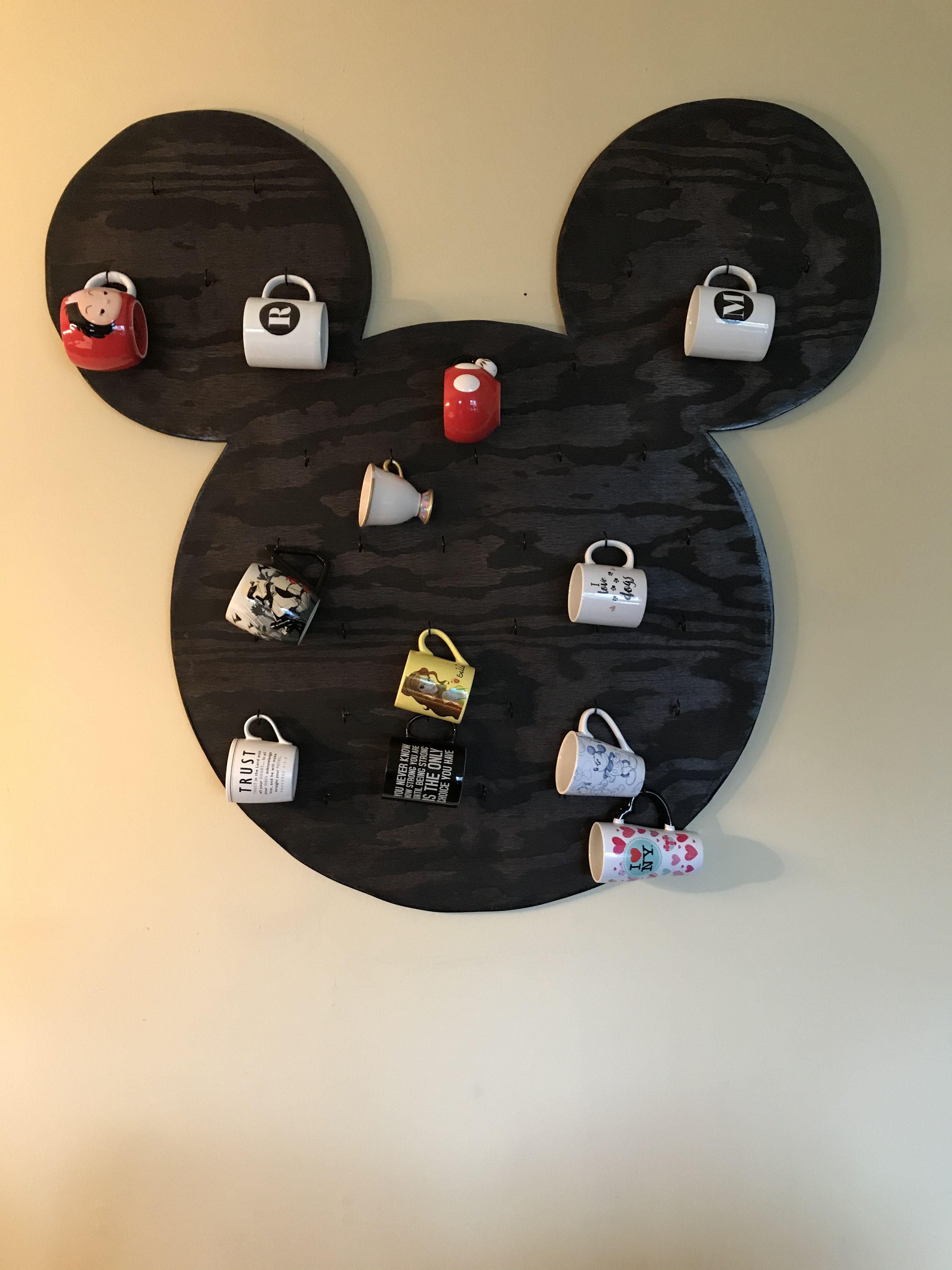 Coffee Mug Holder Disney Mickey Mouse 634385983261 Ebay Coffee Mug Holder Mug Holder Mickey Mouse Mug
