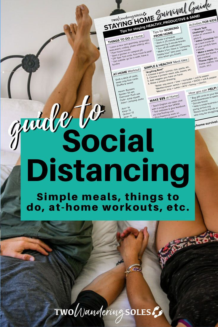 Staying Home Survival Guide: Tips for Staying Healthy & Having Fun