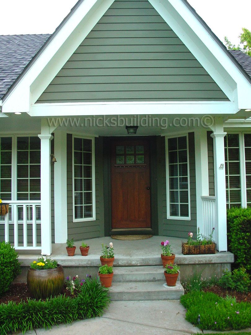 Craftsman Style House. Mission Doors. Overhang of Pourch. Arts and Craft Doors of Solid Mahogany Exterior Mission Doors - Shaker Entry Doors - Craftsman ... & Craftsman Style House. Mission Doors. Overhang of Pourch. Arts and ...