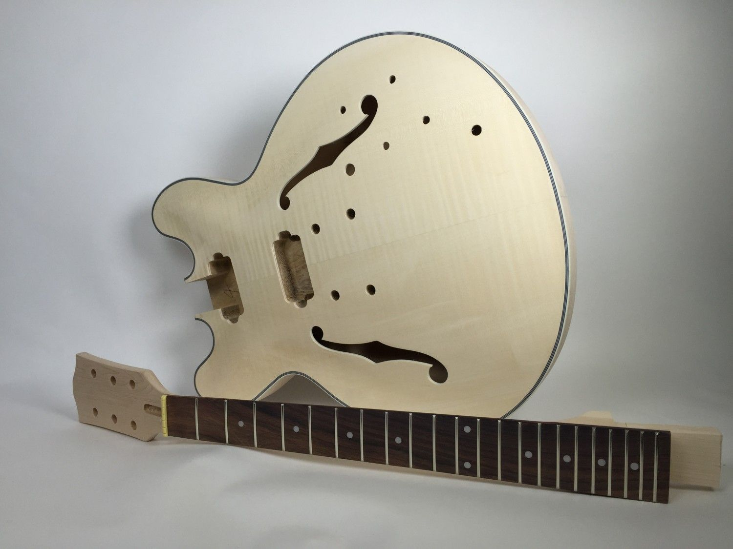 Diy electric guitar kit 335 style build your own guitar