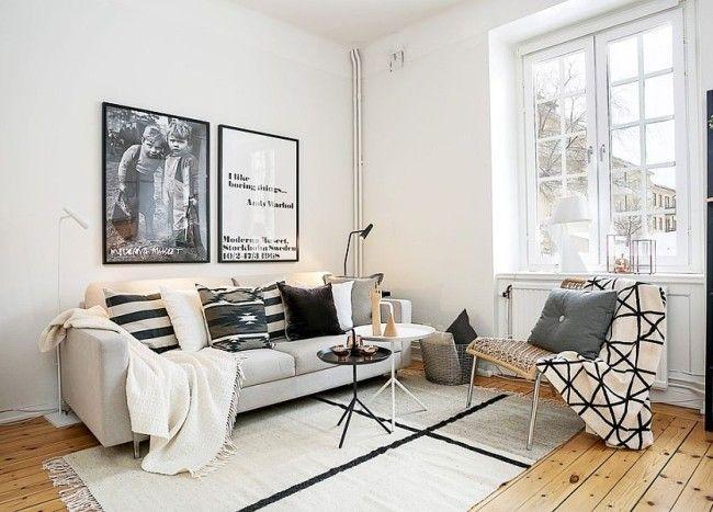 Photo of 50 Chic Scandinavian Living Rooms Ideas, Inspirations