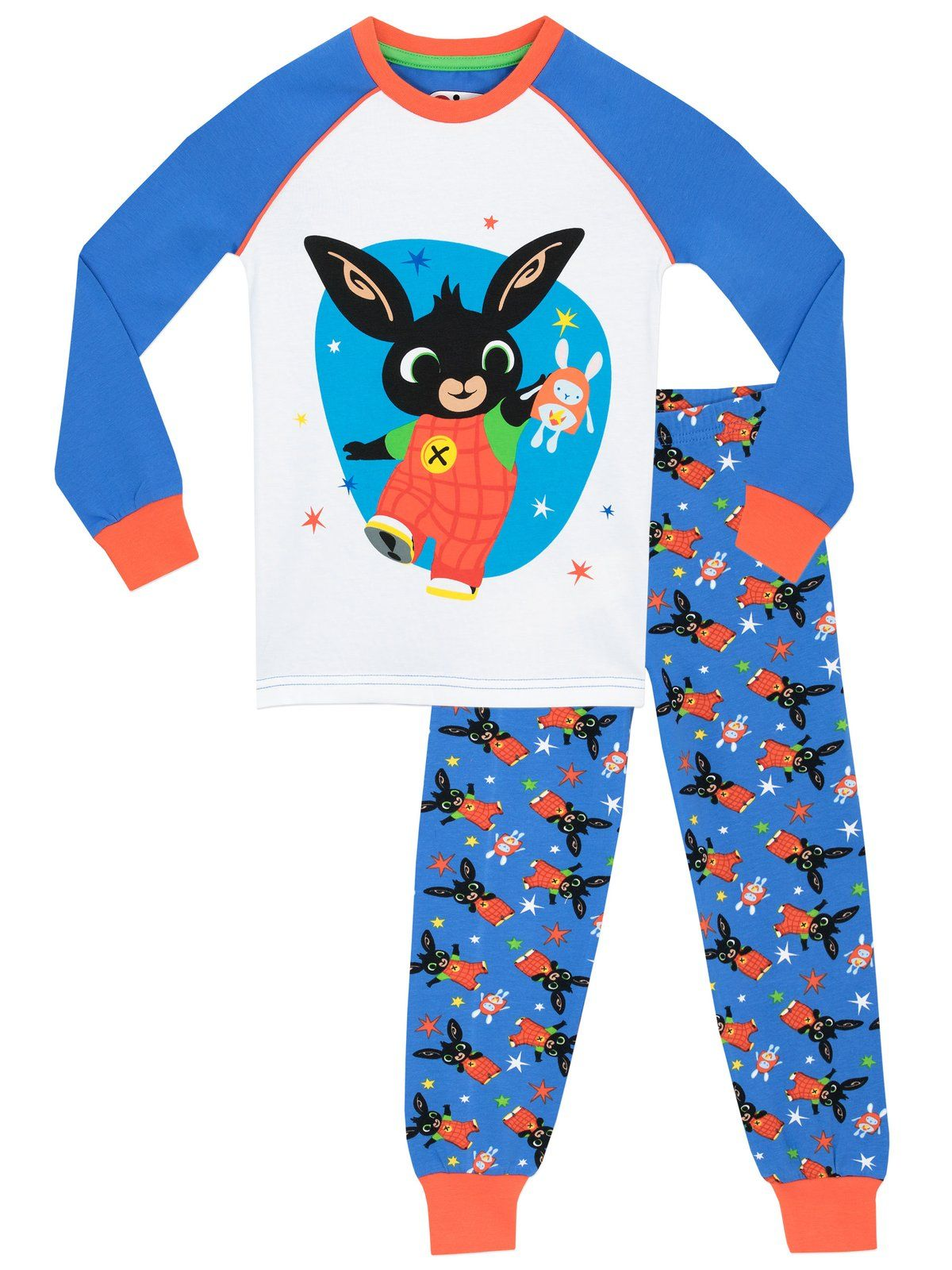 Girls CBeebies Bing Pyjamas Bing and Hoppity PJs