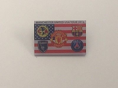Man utd, #barcelona, psg, club #america, san jose us tour 2015 #badge,  View more on the LINK: 	http://www.zeppy.io/product/gb/2/141865700791/