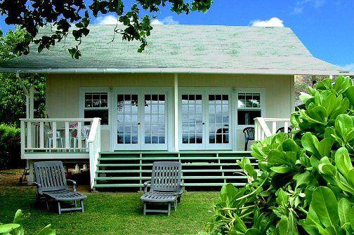 Accommodations Molokai Vacation Rentals Hawaiian Homes Beach Cottage Style Hawaii Homes