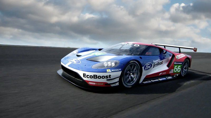 Ford S New Gt Le Mans Racer Sounds Awesome Ford Gt Ford Gt Le