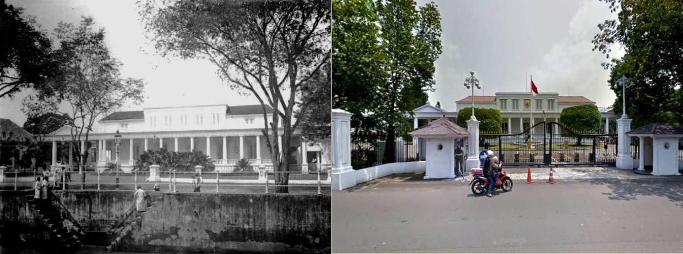 Paleis van de gouverneur-generaal in Rijswijk te Batavia, 1895 1905,.,. Istana Negara, jl Veteran, Jakarta, 2014