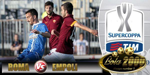 Prediksi Skor Bola AS Roma vs Empoli 21 Jan 2015