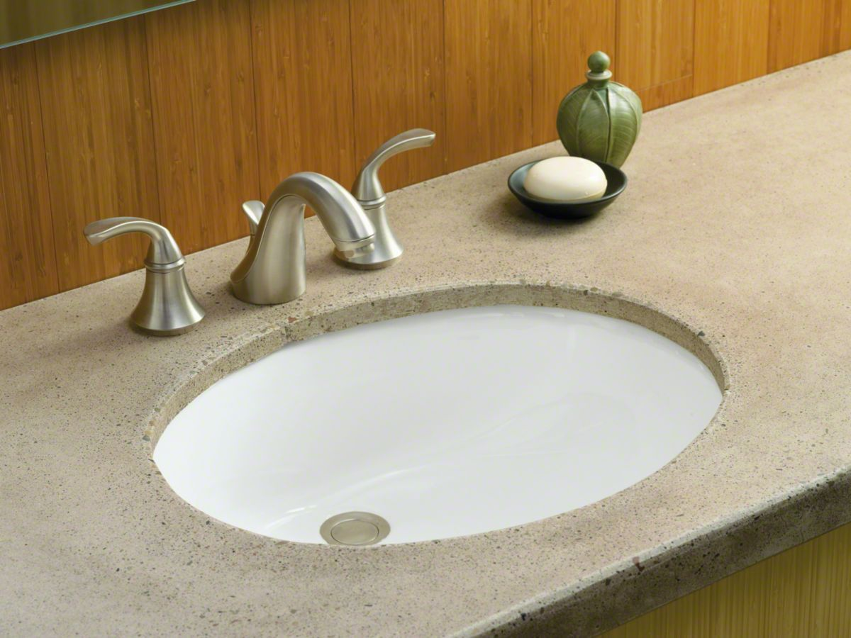 Kohler Caxton 2210 0 Bathroom Sink Fixtures Undermount