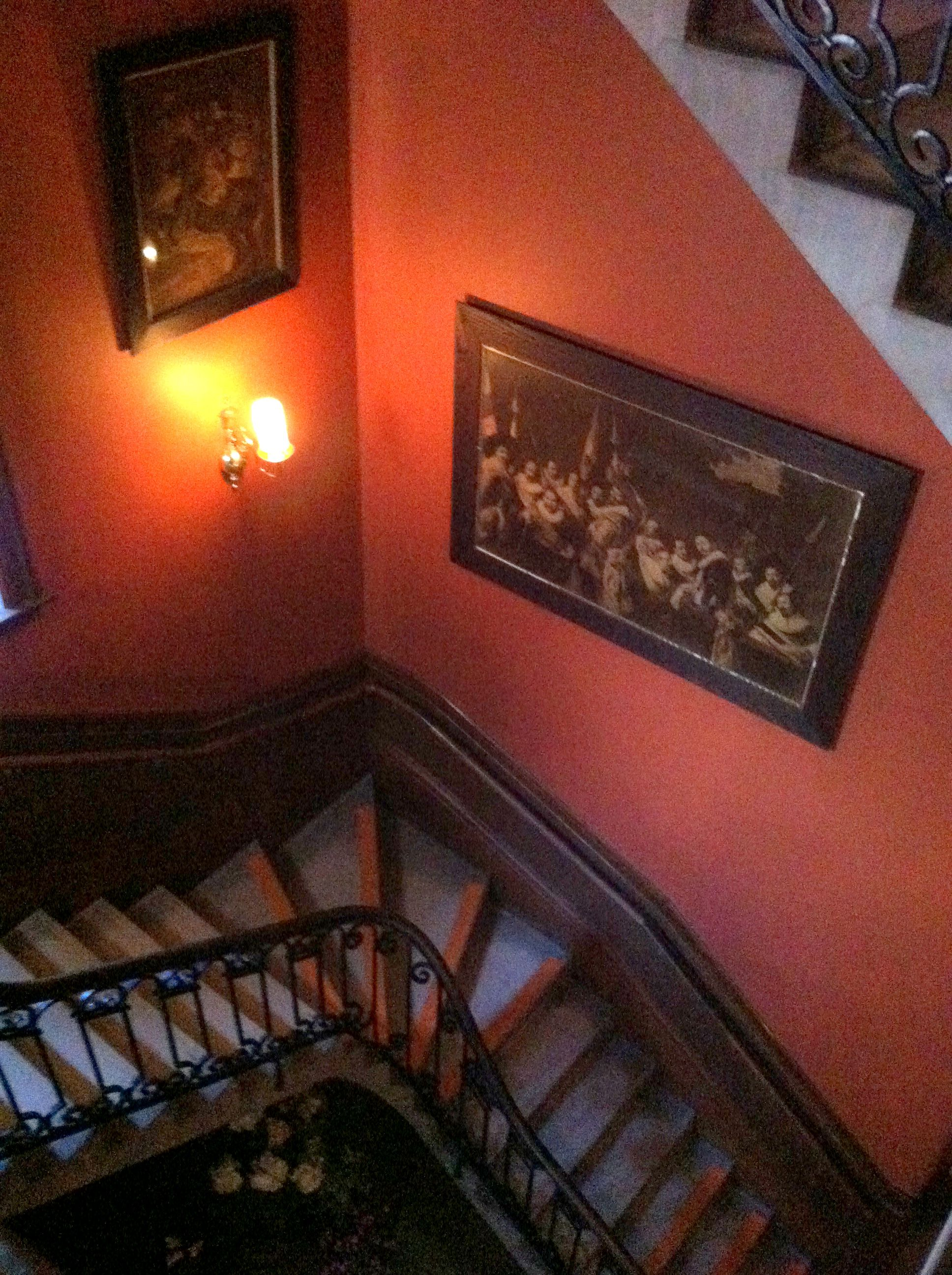 Biltmore House- Basement- Bachelor' Wing Staircase