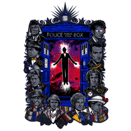 Get This Parody Doctor Who Design now at TeeFury.com! Available in Men and Women's sizes.