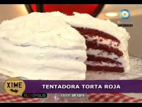 Deliciosa y fácil torta roja (parte 2)