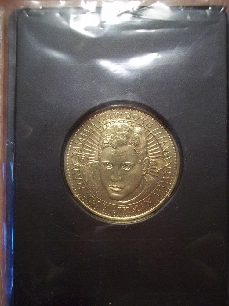 Troy Aikman 1997 Pinnacle Q B Club Coin Limited Edition