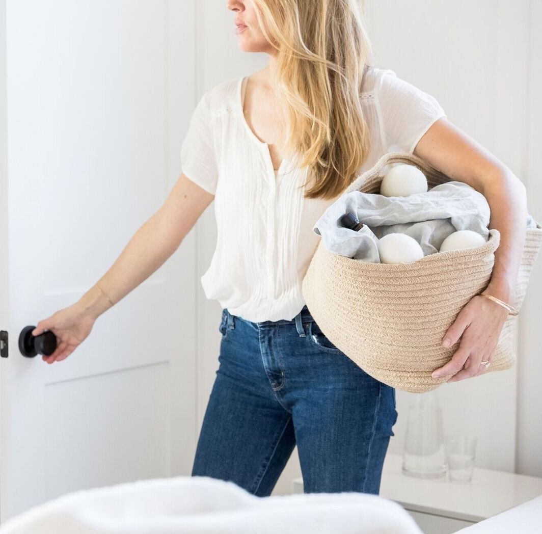 Pin By Katherine Baron On Domestic Bliss Wool Dryer Balls Dryer Balls Soft Clothes