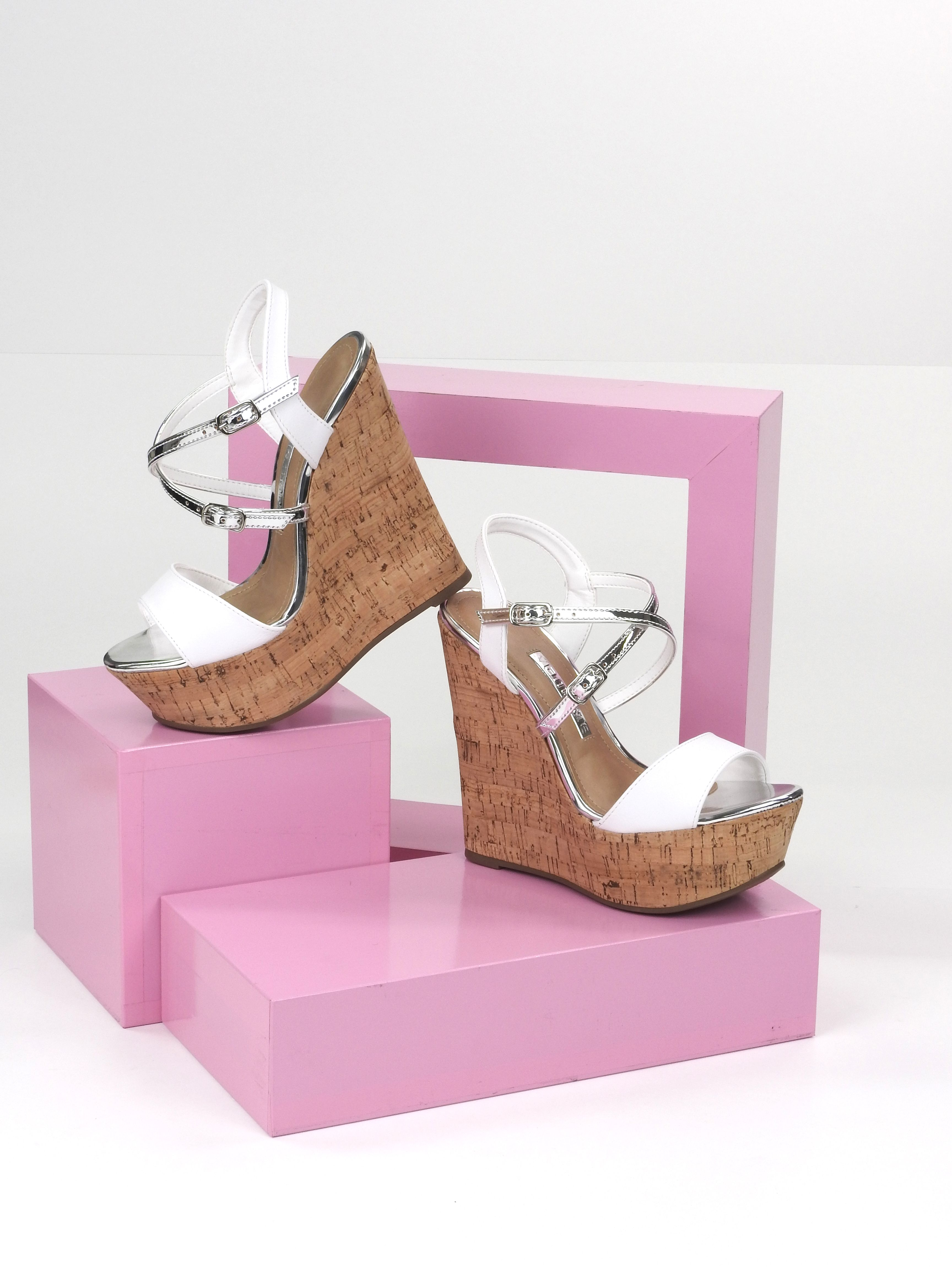 Anabela Beautiful Style Heels Garotas Do Brasil Sapatos