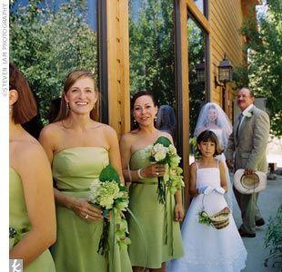 Spring green bridesmaid dresses | Dresses | Pinterest | Wedding ...