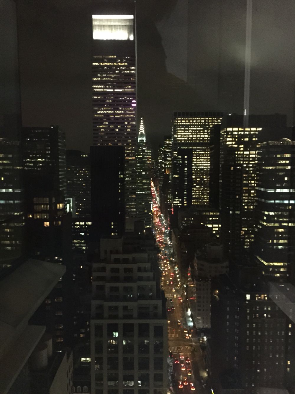 Night view from Bloomberg