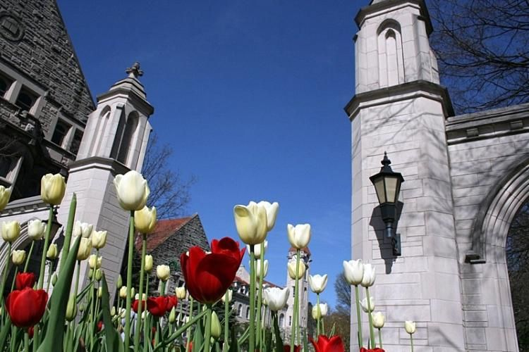 Indiana University entrance. I'm formerly from Indiana and graduated from I.U.