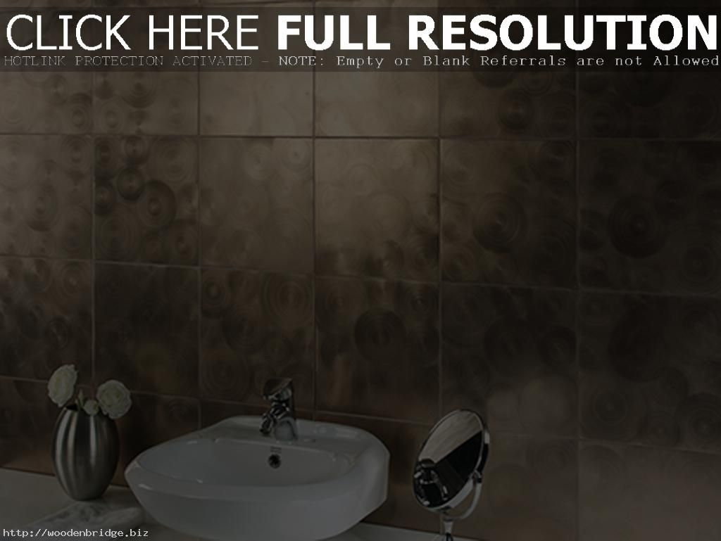 Something a little different for bathroom tiles